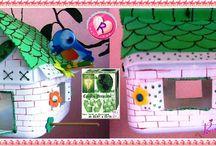 Reciclagem / Objetos com material reciclado, reutilizado...ideias super interessante..acesse http://raiosdealegria.blogspot.com.br/
