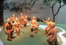 Traditional Chinese Sports / During the past millennia, China has developed numerous sport items, among which four are closely associated with Olympic Games.