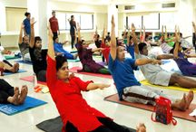 Yoga Classes Nagpur / Vijayan Raman the multi-faceted personality of nagpur is the man behind Vijayan's Yoga and meditation center, yoga classes. He is a yoga trainer in Nagpur.
