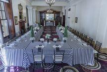 Wedding Showcase - April / Black and White themed Modern style wedding