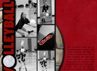 Volleyball Scrapbooking / Layouts and products for scrapbooking your volleyball pictures