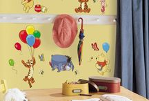Winnie the Pooh Theme Wall Decorations / He's a friendly yellow bear, and you want him all over your walls... right?