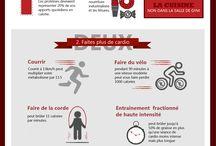 Sport / Infographies pour en savoir un peu plus sur le sport