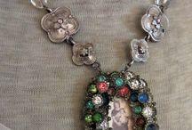 Vintage rhinestones / Vintage rhinestones jewels