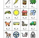opgaver med bogstaver