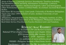Supplementary Review for Realtors License Exam 24th May 2015 / Details of Supplementary Review Modules produced by Atty Arnel dela Rosa and Licensed Broker Lecturer Rem Ramirez that can be taken prior to the examination