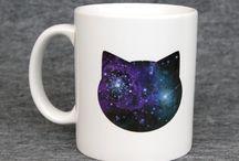 Cat-Themed Jewelry, Mugs, Trinkets... / by Darlene Antonelli