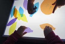 School - Light Table / Learning about how to use a light table in the early childhood classroom - Reggio Emilia Based / by Becca Ross