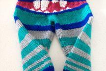 Toddler knitting