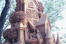 Sand statues-Pieskové sochy