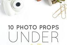 Studio Studies / Ways to set up & improve product photos, etc.