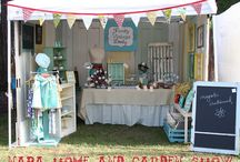 Craft Show Booths / Great ideas for designing your booth!