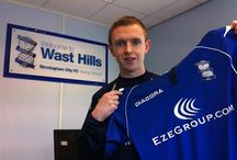 Former player - Shane Ferguson / by Birmingham City Football Club