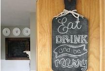 Chalkboard. / by Laura Koons