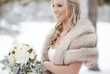 Wintery Bride and ideas for spring