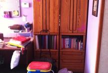 My scrapbook room / by Angela Moore