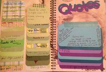 Bullet Journal & Notebook Ideas