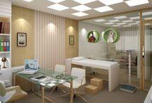 consultório pediatrico design