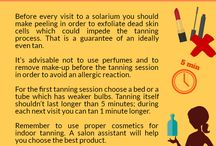 TAN LIKE A PRO! / Tanners' questions answered. A handful of useful tips!