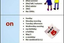 Prepositions of time
