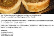 butter tarts with raisins