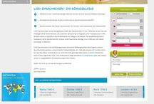 LISA! Sprachreisen 2016 - Responsive Design