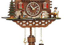 Cuckoo clocks Weather houses