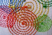 Circular embroidery