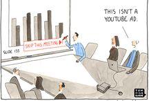 Funny Ha-Ha! / Humorous marketing comics  / by Bahafis Creative