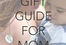 Gift Guide for MOM / The perfect meaningful gifts for Mom!