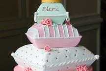 wedding cake pillow