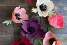 { Paper flowers }