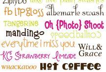 Free Fonts / by Jackie Brown