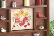 Free Summer Cross-Stitch Patterns / by Craft Downloads