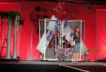 """AIFD Symposium PASSION 2013 """"illusion"""" / A big thanks to Julie Reed and her amazing work. We love when designers are able to use or products in such a magnificent way."""