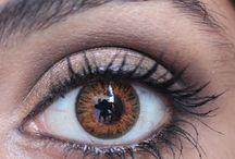 Contact lenses for dark skin natural