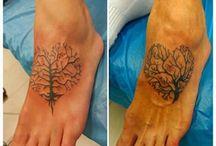 Matching mum/daughter tattoos