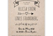 sweetprintery.se wedding stationery / Wedding stationery from sweetprintery.se. Swedish design. Swedish quality print.