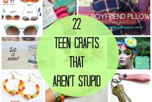 Crafts for Teens / Teen crafts are fun! Be sure to follow to caught all our teen craft creations.  / by A Little Craft In Your Day
