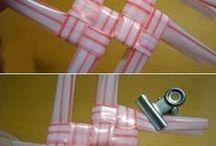 panier en paille plastique