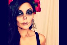 Day of the dead Halloween work ideas