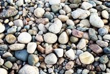 Stones & sand