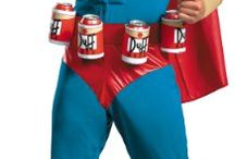 Simpson's Duffman Costume / Stay in touch on Facebook! https://www.facebook.com/maskerix/