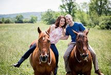 Engagement photos with horses- Saratoga Springs, NY / Include your beautful horse in your engagement photography session in Saratoga Springs NY with Tracey Buyce Photography.