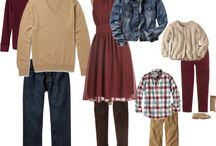 Portrait Outfit Ideas - Fall / Inspiration for clothing ideas to share with clients who have fall portrait sessions