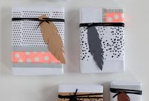 brown paper packages / wrapping paper ideas
