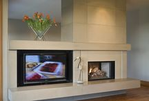Fireplaces / by Kristy Estes