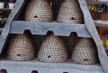 Bee Skeps & Bee Hives. / Great Garden Accents