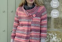 Drifter Chunky / Drifter Chunky is a Super Soft blend of Cotton, Wool & Acrylic, available in 10 variegated subtle shades that knit up to produce a fabulous striped and Fair Isle effect.