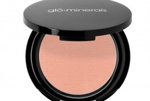 Blush / glo minerals Blush offers highly pigmented color for expert shading and highlighting. / by glo Professional Brands